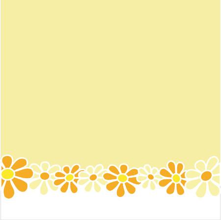 Retro style floral design Vector