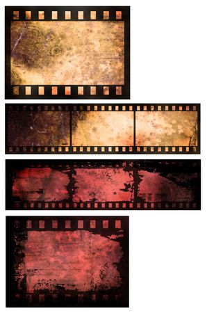 Grunge style film abstract