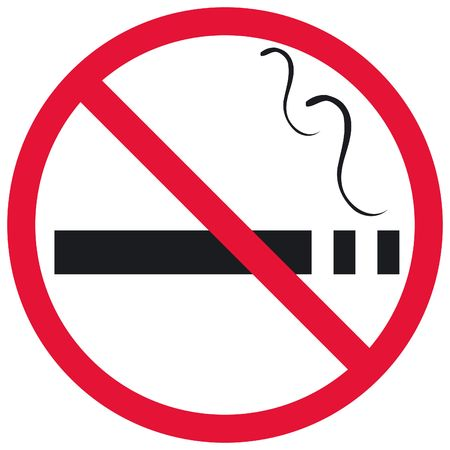 obligation: No Smoking sign Stock Photo
