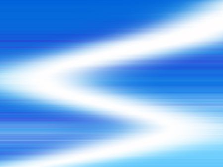 Abstract of Blue Light Rays photo
