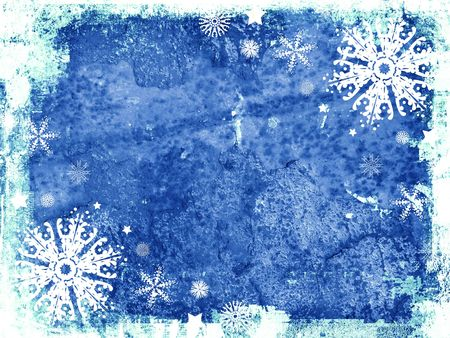 Grunge style christmas background photo