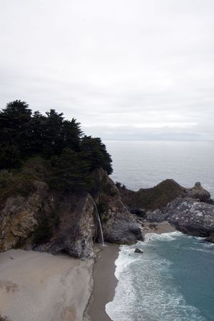 Pigeon Point Lighthouse, Big Sur, California photo