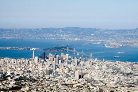 Aerial view of downtown San Francisco, California Stock Photo - 887238