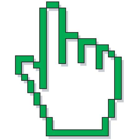 clic: a hand cursor