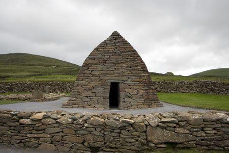 oratoria: Gallarus Oratorio, una iglesia cristiana primitiva, Condado de Kerry, Irlanda