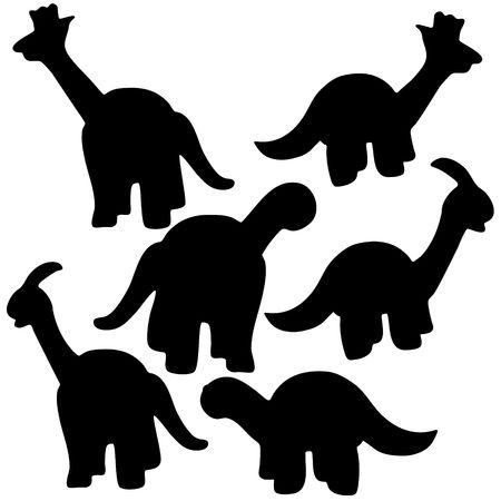 Happy Dinosaur illustration