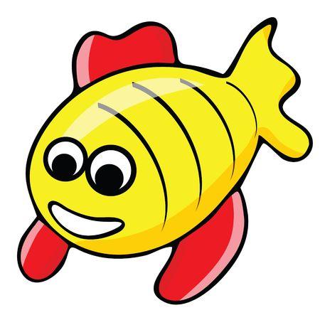 Tropical fish illustration Stock Illustration - 2734478