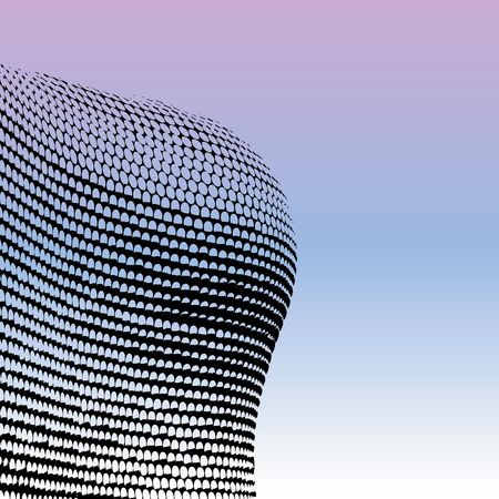 midlands: Bullring Shopping Centre - Modern Architecture Stock Photo