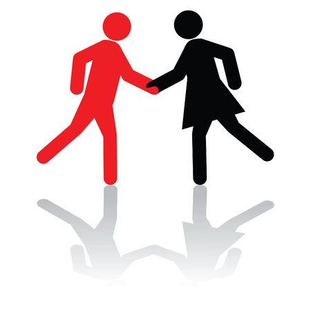 Business concept - greeting each other,or, shaking hands on a deal