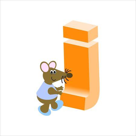 baile caricatura: Happy Mouse con menor caso j carta
