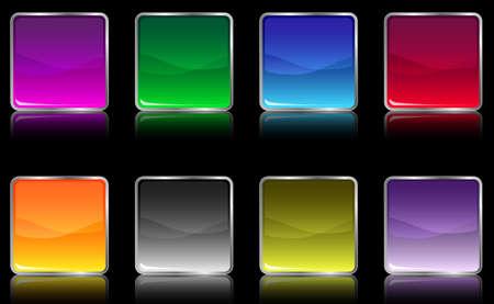aquabutton: The set of web shiny buttons