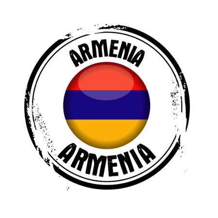 Stamp of the European Country : Armenia Stock Vector - 17226968