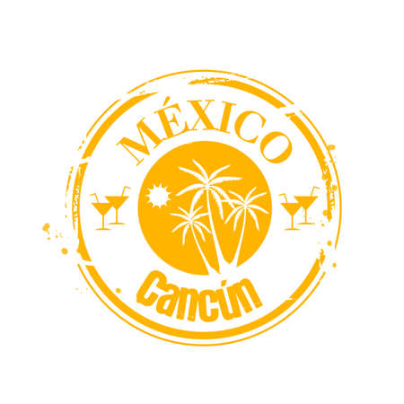 stamp Mexico Stock Vector - 17251029