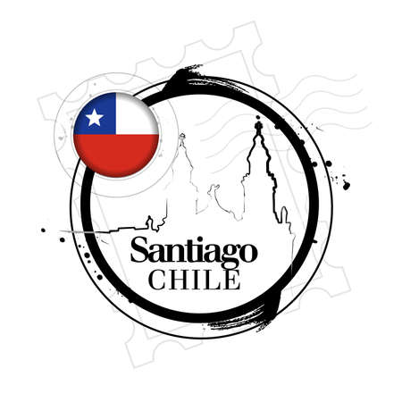 santiago: stamp Santiago