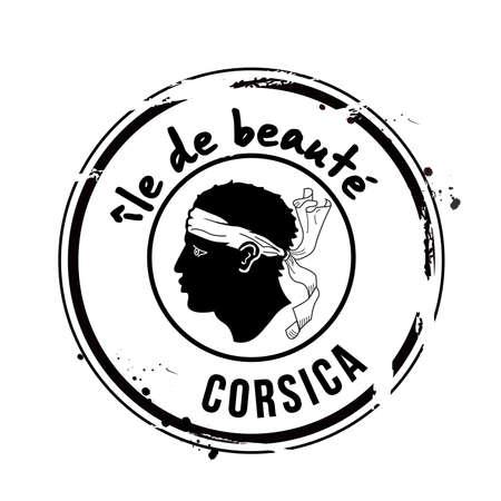 corsica: stamp Corsica