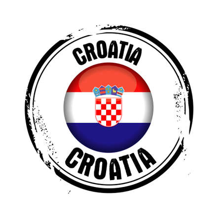 stamp Croatia