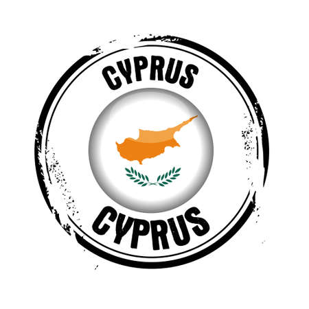 stamp Cyprus Stock Vector - 17280778