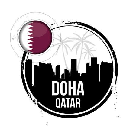 doha: stamp Doha