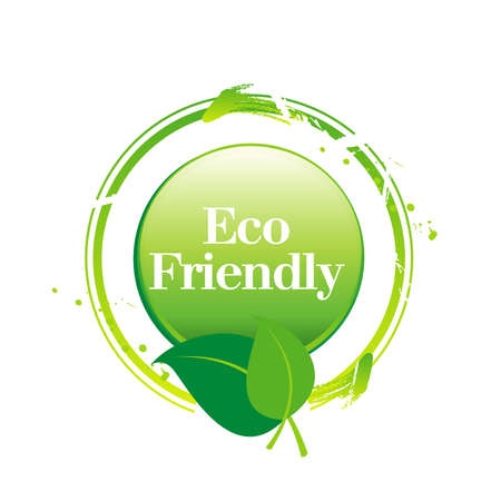 stamp Eco Friendly Vector