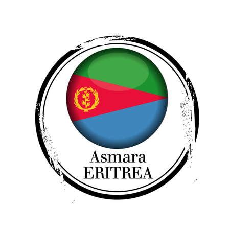 eritrea: stamp Eritrea