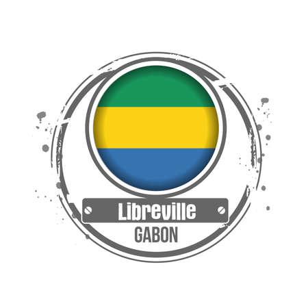 gabon: stamp Gabon