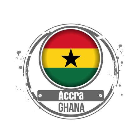 ghana: timbre du Ghana