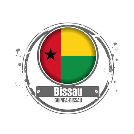 stamp Guinea-Bissau Stock Vector - 17320578