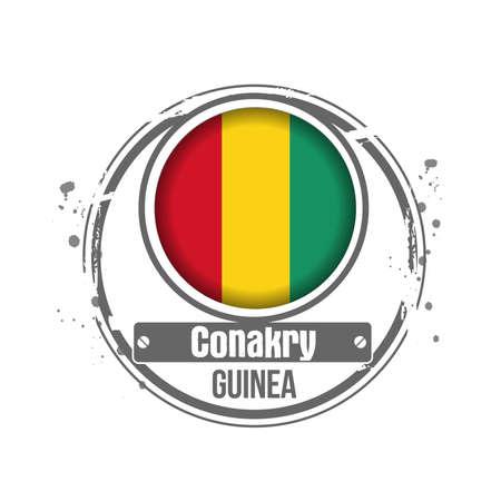 atlantic city: stamp Guinea