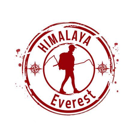himalaya: stamp Himalaya