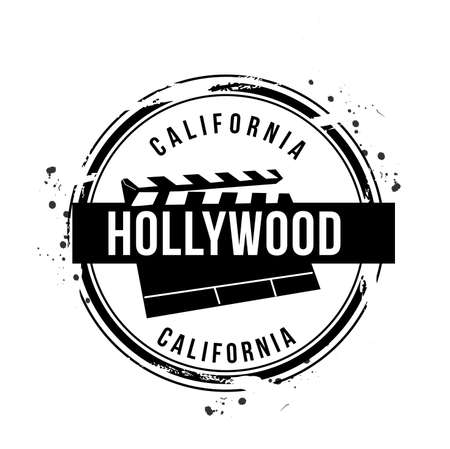 stamp Hollywood Stock Vector - 17320574