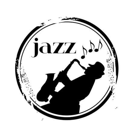 stamp Jazz Vector