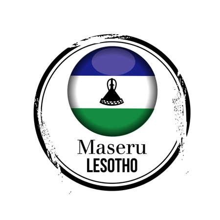 lesotho: stamp Lesotho