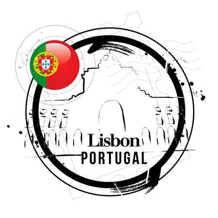 lisbon: stamp Lisbon