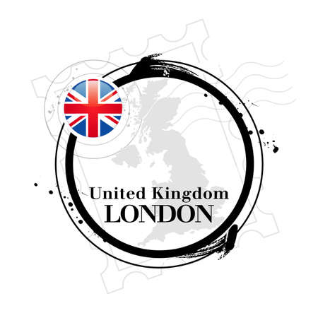 stamp London Vector
