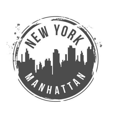 bronx: stamp Manhattan