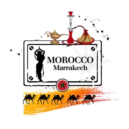 narghil�: timbro Marrakech