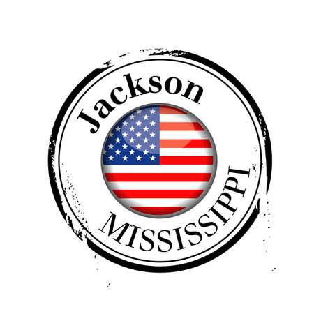 stamp Jackson Vector