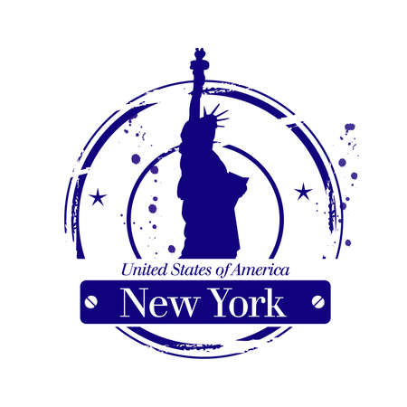 stamp New York Stock Vector - 17378859