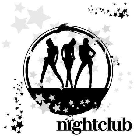 stamp Nightclub Vector