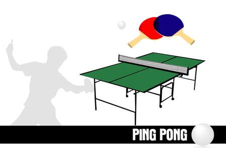 Table Tennis Stock Vector - 17422333