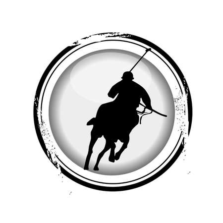 stamp Polo Vector