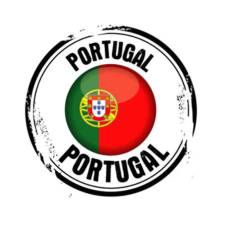stamp Portugal Stock Vector - 17422410