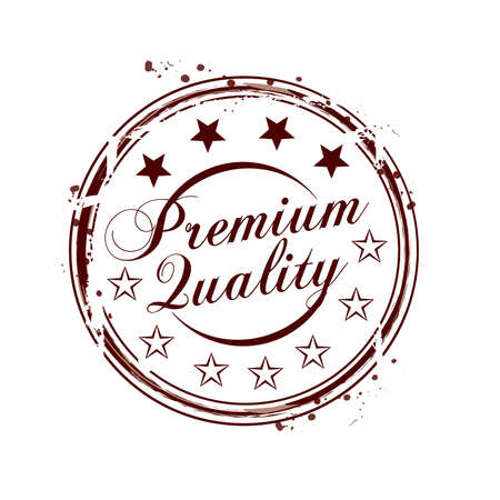 stamp Premium Quality Vector