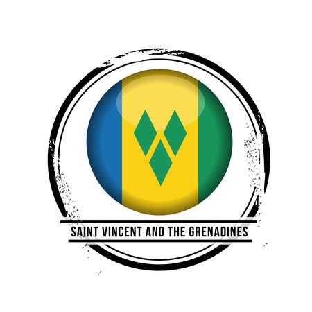 vacances: stamp Saint Vincent