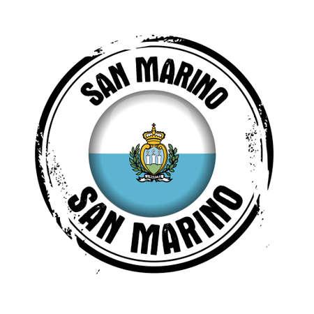 sammarinese: timbrare San Marino