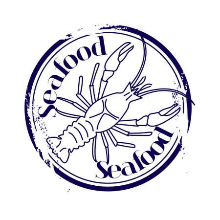 tampon: stamp Seafood