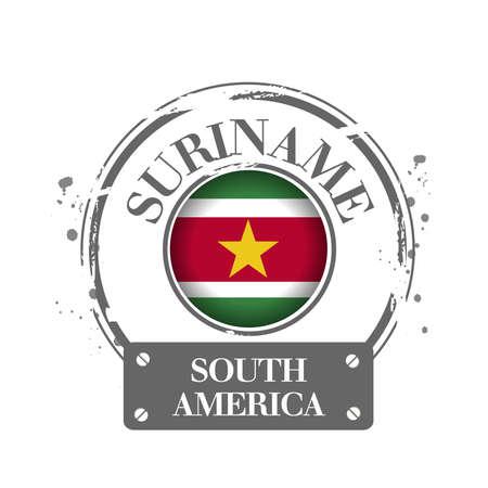 suriname: stamp Suriname
