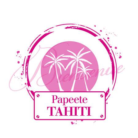 stamp Tahiti