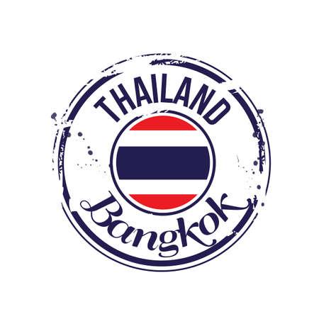 bangkok: stamp Bangkok