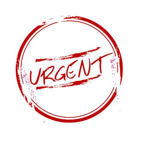 stamp Urgent Stock Vector - 17498341